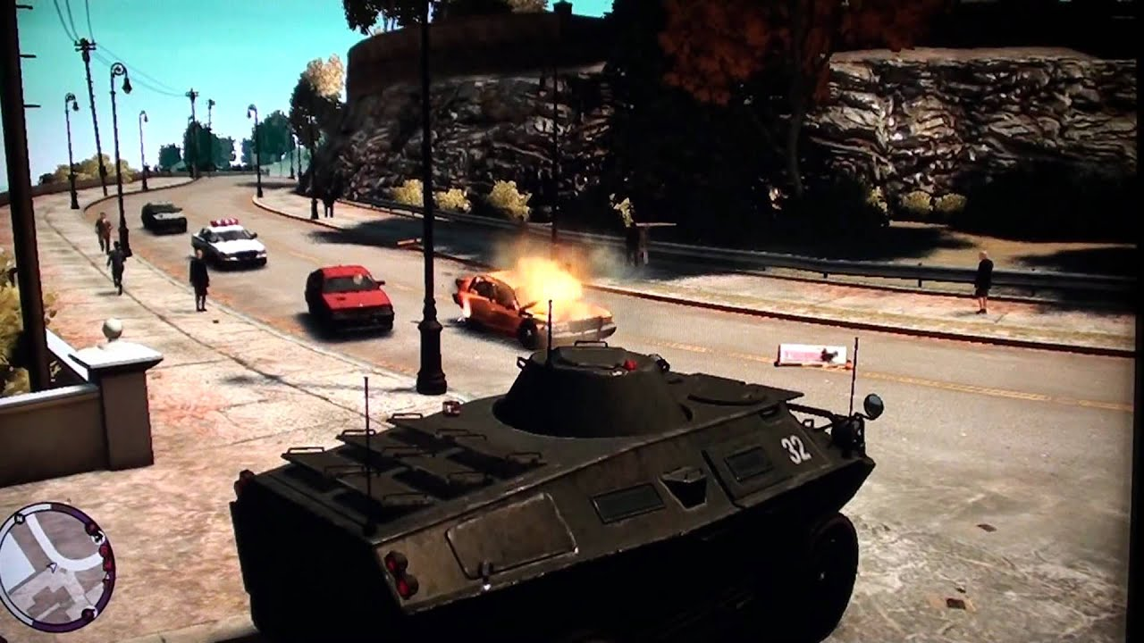 Grand Theft Auto Iv Cheats Xbox 360 Army Tank