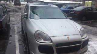 Porsche Cayenne РАЗБИТ / СУД с ЖКХ . Илья Стрекаловский