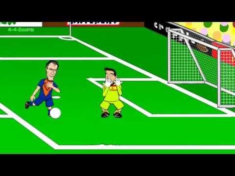 Superman Van Persie (Spain vs Netherlands 5:1 )