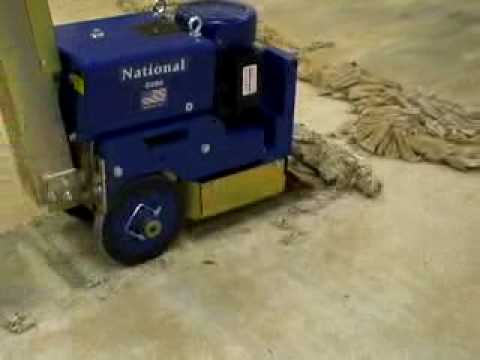 6280 Industrial Self Propelled Floor Scraper Youtube