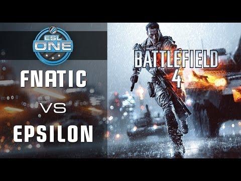 Fnatic vs. Epsilon - Cup 1 Grand Final - ESL One Spring 2014 - Battlefield 4