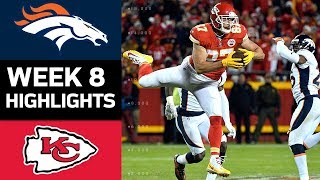 Broncos vs. Chiefs | NFL Week 8 Game Highlights