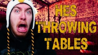 HE'S THROWING TABLES! (The Stalker w/ Goldy & Friends)