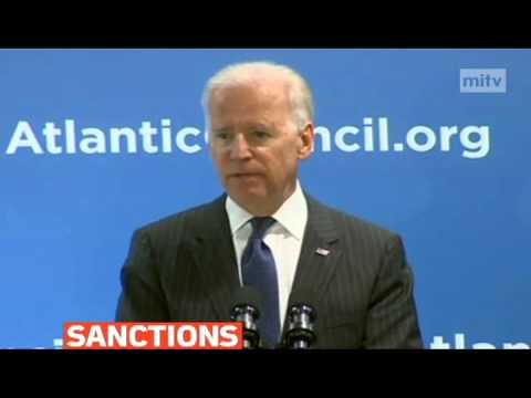 mitv - U.S. VP Joe Biden says Russia must respect and follow the rules of international order