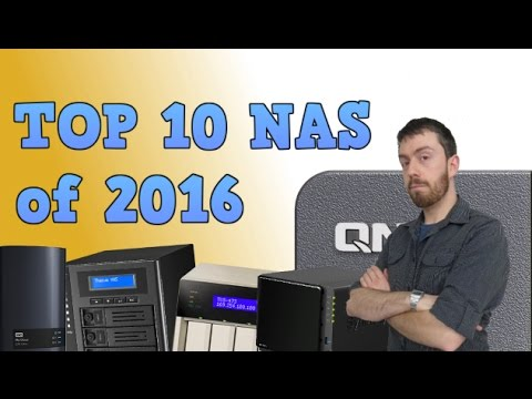 The Top 10 NAS of 2016 from Synology, QNAP, WD, Thecus and More
