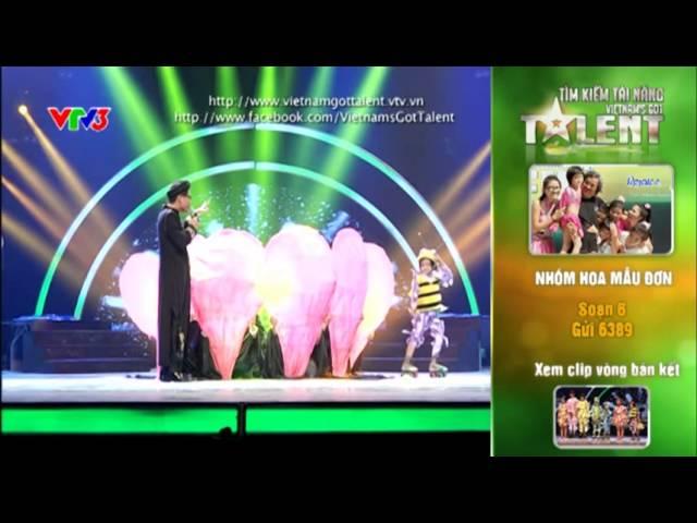 Vietnam's Got Talent 2012 - Chung Kết 2 - Nhóm Hoa Mẫu Đơn - MS 6