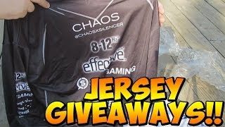 """tK """"BLACKOUT JERSEY"""" Unboxing & GIVEAWAYS + TITANFALL GIVEAWAY!"""