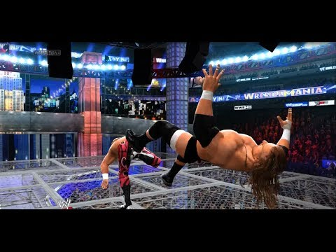 WWE 2K14 - Triple H Vs. Shawn Michaels | Hell in a Cell Match Online 5-Star Match HD