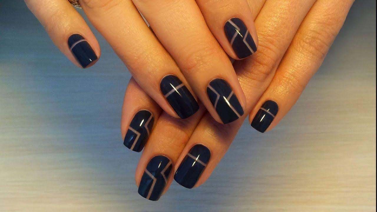 Модный маникюр шеллак: красивые фото идеи дизайна ногтей видео