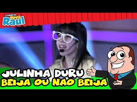 Programa Raul Gil - Julinha Duru (Beija ou Não Beija) - Homenagens MC Gui