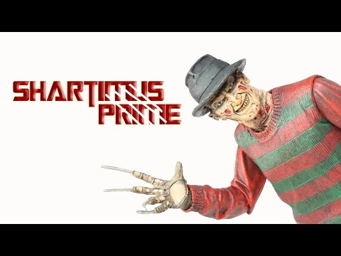 NECA Ultimate Freddy Krueger 30th Anniversary A Nightmare On Elm Street Movie Action Figure Review