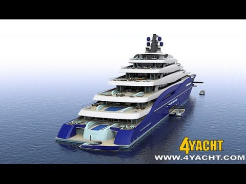 Những 'siêu du thuyền' hiện đại và lớn nhất thế giới
