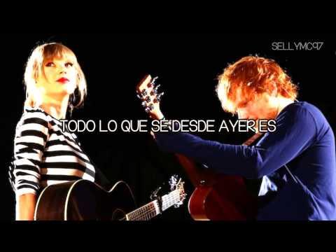 Everything has changed - Taylor Swift ft. Ed Sheeran [Traducido al español]