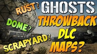 "Cod Ghosts - ""THROWBACK MW2 & MW3  DLC MAPS LEAKED?"" Would You Want RUST, DOME, SCRAPYARD Back?"