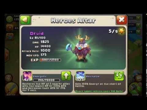 Castle Clash Advice needed for My Legendary Squad, talents, and Arena strategies