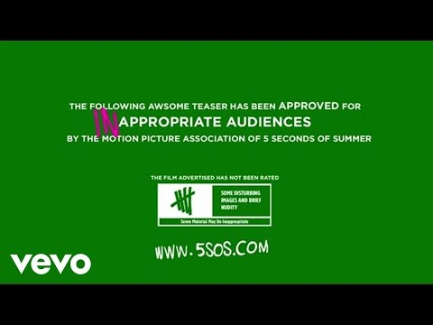 5 Seconds Of Summer - She Looks So Perfect (Teaser 1)
