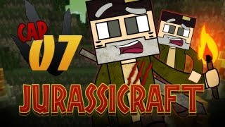 """Plantas! Matad Zombies!!"" JURASSICRAFT! Episodio 7"