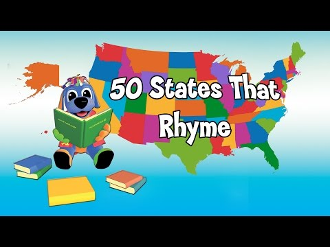 Nursery Rhymes And Kids Songs 50 States That Rhyme Song Raggs Tv Viewpure