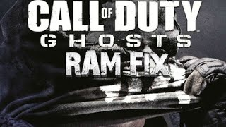 How To Play Call Of Duty Ghosts On 4 GB Of RAM Or Less