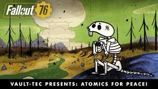 Fallout 76 - Atomics for Peace! Nukes Videó