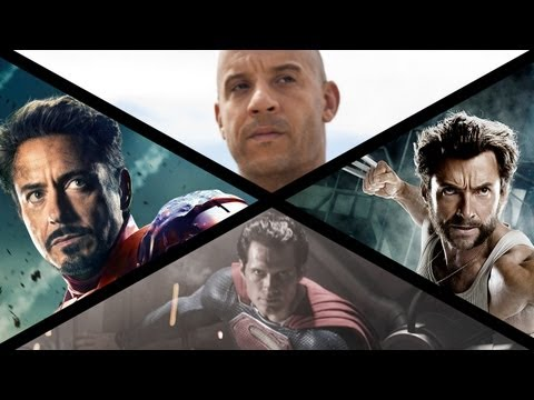 2013 Summer Movie Preview: Iron Man, Superman, Wolverine & More!