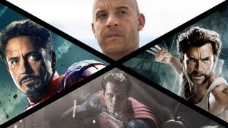2013 Summer Movie Preview: Iron Man, Superman, Wolverine