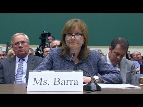 GM CEO's apology under oath in 90 seconds