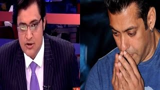 Arnab Goswami's Take On Salman Khan's Comment..