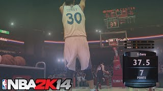 PS4 NBA 2K14 Epic 3 Point Contest Feat. Steph Curry