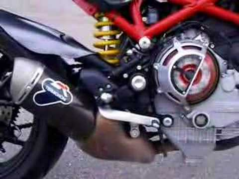 Ducati Monster Termignoni Shorty Exhaust