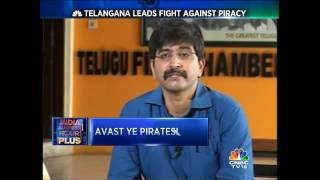 CNBC - Telangana Leads the country in fight against piracy