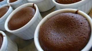 Molten Lava Cake Valentine's Day Dessert Recipe