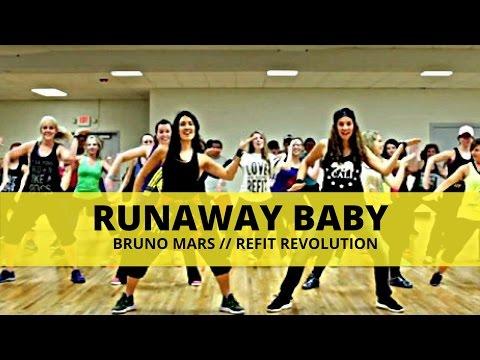 """Bruno Mars """"Runaway Baby"""" Dance Fitness"""