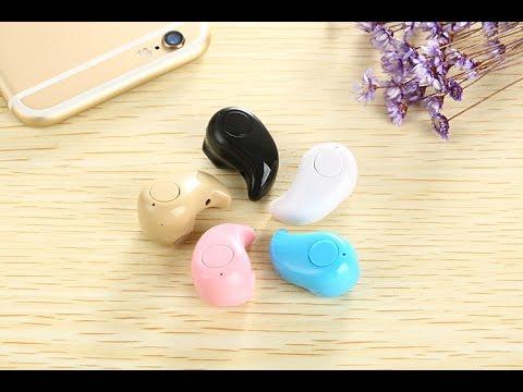 Tai nghe bluetooth siêu nhỏ S530 Bluetooth 4.0 - Giá 150k - 01664502205