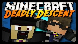 Minecraft: DEADLY DESCENT w/ SkyDoesMinecraft!