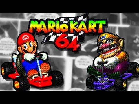 Mario Kart 64 - Wario x Mario
