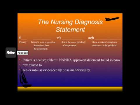 writing a nursing diagnosis Here at nurseslabs, we have the ultimate database of different nursing care plans and nursing diagnoses for our student nurses and professional nurses to use steps in writing a nursing care plan how do you write a nursing care plan.