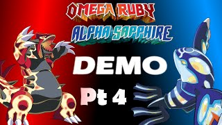 Pokemon Omega Ruby Alpha Sapphire Demo Part 4