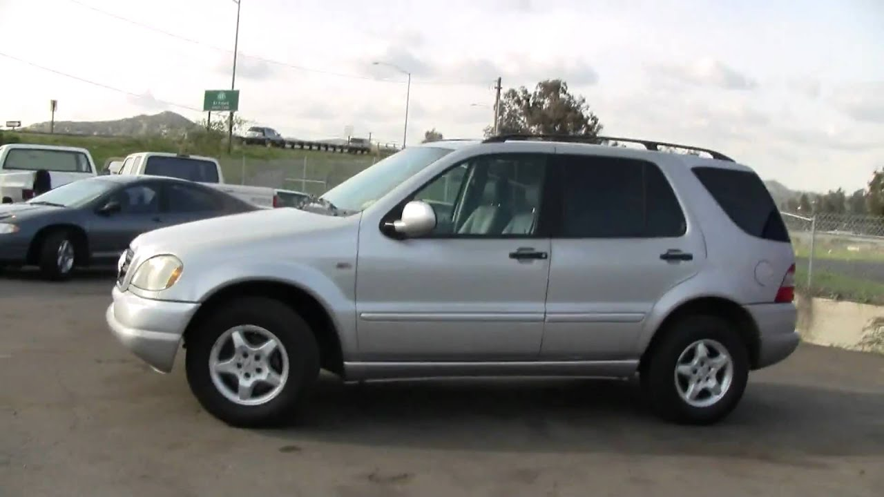 01 mercedes benz ml320 suv w163 4x4 awd forsale 6500 for Mercedes benz ml320 suv