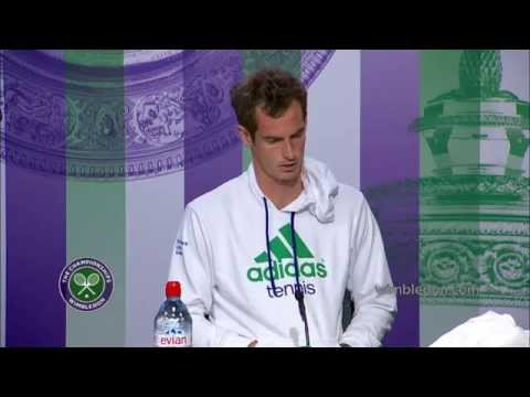 Andy Murray press conference (1R) - Wimbledon 2014