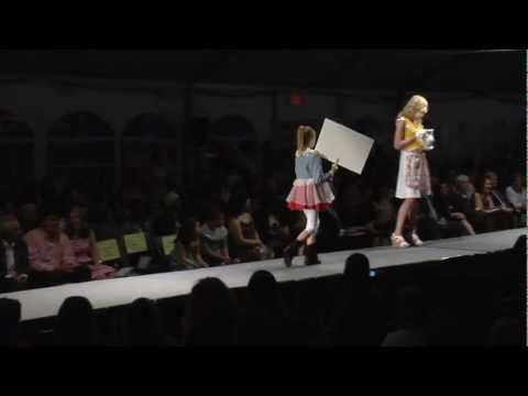 Moore College of Art & Design Fashion Show 2011 Sophomore Childrenswear