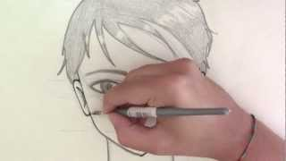 Come Disegnare Un Viso Maschile Manga How To Draw Male