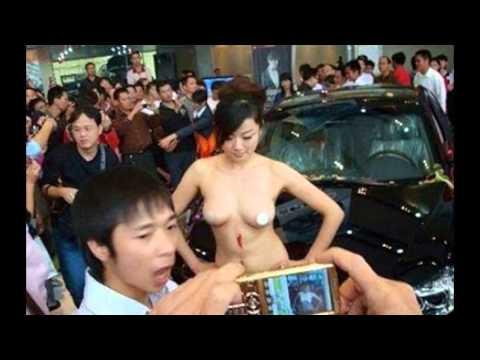 Trung Quốc cấm cửa người mẫu nữ tại triển lãm ô tô, cấm người mẫu nữ hở hang ở triễn lãm xe hơi