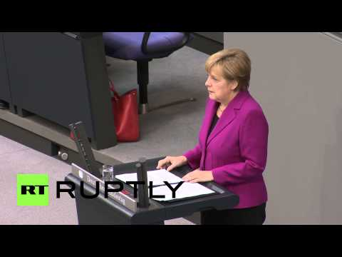 Germany: Merkel approves of kicking Russia out of G8