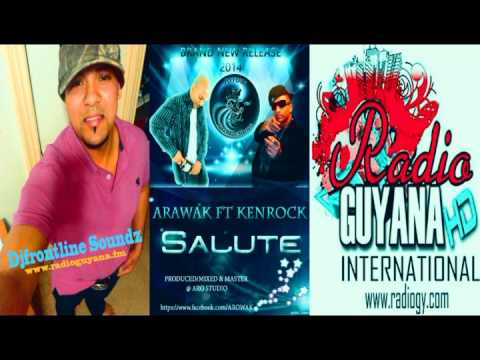 Arawak Indian (Interview with Djfrontline Soundz) Radio Guyana International