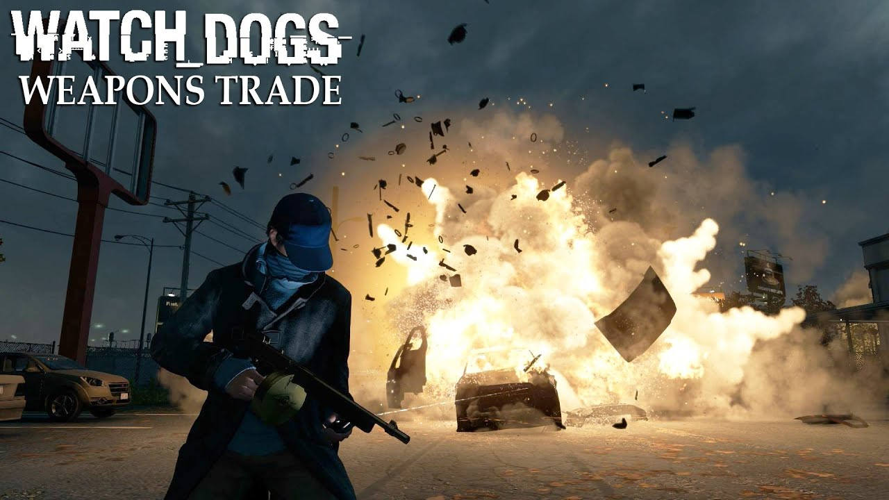 Watch Dogs Weapons Crate