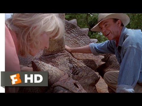 Jurassic Park (3/10) Movie CLIP - The Sick Triceratops (1993) HD