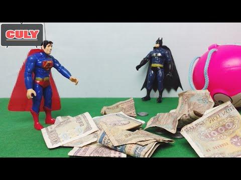 Siêu nhân chế 2 - Superman và Batman ăn cắp tiền lẻ của Cu lỳ - Siêu anh hùng avengers