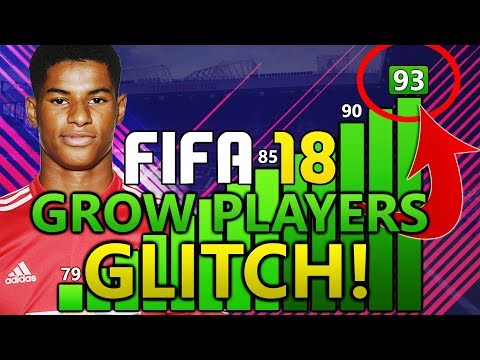 FIFA 18 PLAYER FAST GROWTH CHEAT (GLITCH?!) | FIFA 18 TIPS AND TRICKS!