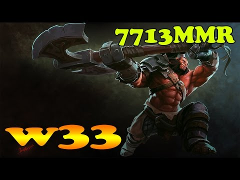Dota 2 Gameplay: w33 con Axe 2